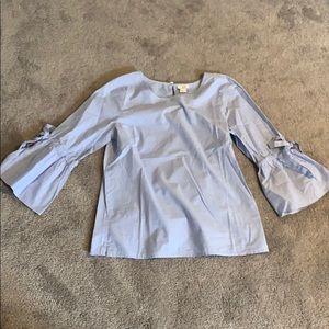 J. Crew Tops - j. crew bell sleeve shirt